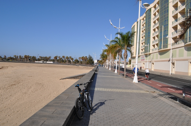 Cycle route Arrecife